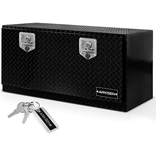 ARKSEN 36' Durable Aluminum Diamond Plate Tool Box With...
