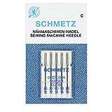 Máquina de coser Agujas Schmetz (opción de 89 tipos/tamaños) - comprar 2 + 1 libre de la aguja a la infiltración y 1st CLASS POSTAGE, 3 Packets For The Price Of 2, Overlocker Asst 80/12&90/14 + Threader