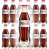 Diet Coke, 8 Fl Oz Glass Bottle (Pack of 12, Total of 96 Oz)