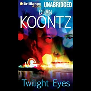 Twilight Eyes audiobook cover art