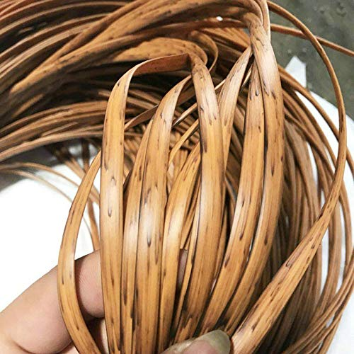 VIGAN 500 g PE Rattan Flaches Synthetisches Rattan Webmaterial Kunststoff Strick Rattan Holz