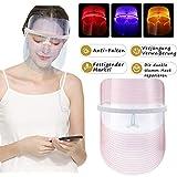 3 Farben LED Gesichtsmaske Photonen-Therapie Hautverjüngungs Lichttherapie Maske,Anti Falten Whitening Akne EntfernungMaske,LED Gesichtsmaske, Schönheit Gesichtspflege,Schönheit maske