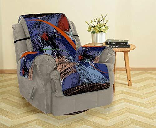JIUCHUAN Kunst Mode Trend Malerei Graffiti Fitted Sofabezug Sofa Sitzkissen Schlafsofa Bettbezug 21