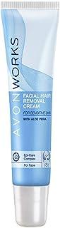 3 x Avon Works | Avon Facial Hair Removal Cream for