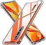 ivoler Klar Silikon Hülle für Oppo Find X2 Pro 5G mit Stoßfest Schutzecken, Ultra Dünne Weiche Transparent Schutzhülle Flexible TPU Durchsichtige Handyhülle Kratzfest Hülle Cover