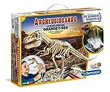 ClementoniFocus Archeogiocando - Juego de arqueología Esqueleto Grande de T-Rex Multicolor