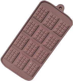 シリコン型 板チョコ チョコ ミニ12個