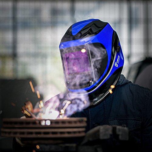 Solar Powered Welding Helmet