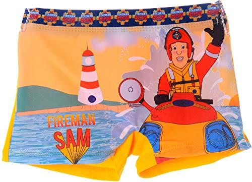Unbekannt Badehose Feuerwehrmann Sam Schwimmhose Bade Hose Shorts Schwimm Höschen Kinder (5J - 104/110)