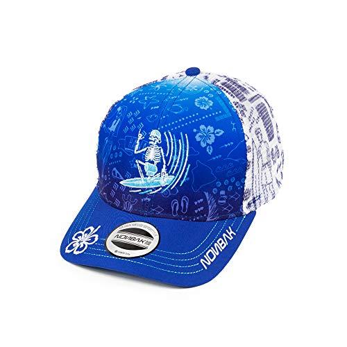 Nonbak Gorra Trucker Cap Gorra béisbol Transpirable Logo 3D. Muy Ligera 6 Paneles. Tejido Malla. EDICIÓN Limitada (Hawaii Surfer)