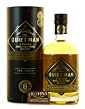 The Quiet Man 'An Fear Giuin', Whisky Irlandés Escocés de una Sola Malta, 8 Años - 700 ml
