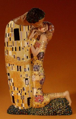 Estatua Klimt Marca Skulpturen
