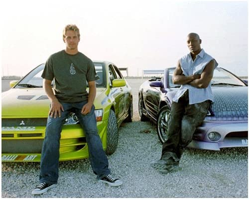 Paul Walker 8x10 Photo Ranking TOP2 Fast Furious the Blue a Portland Mall Into on sitting