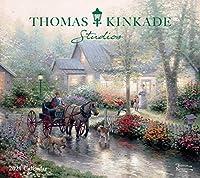 トーマス・キンケイド Thomas Kinkade Studios 2021 カレンダー