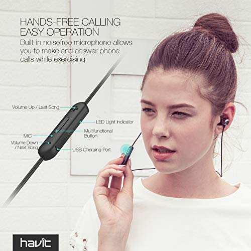 Bluetooth In-Ear Sport Kopfhörer HAVIT Bild 3*