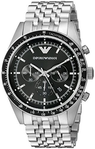 Price comparison product image Emporio Armani Men's AR5988 Sport Silver Watch