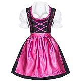 Gaudi-Leathers SW2580FILIPK Dirndl, Negro (Pink 050), 42 para Mujer