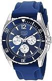 ESQ Men's Multifunction Watch w/ Blue Silicone Strap FE/ 0245