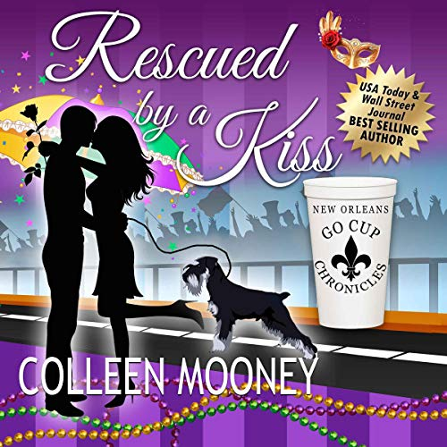 Rescued by a Kiss audiobook cover art