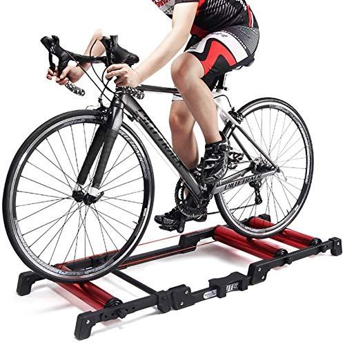 Bici MTB Cubierta Ajustable Bicicletas Rodillos Entrenador Adecuado for la Carrera de Formación Formación de Cubierta más fácil Guardar y Transportar Bike