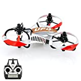 SHOPINNOV Mini Tricopter RC OVNI Invader Gyro 6-axis Frequence 2.4GHz 4 canaux