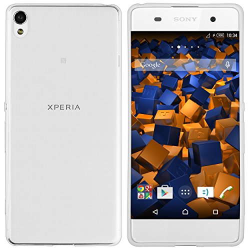 mumbi Hülle kompatibel mit Sony Xperia XA Handy Hülle Handyhülle dünn, transparent