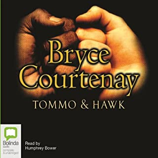 Tommo and Hawk audiobook cover art