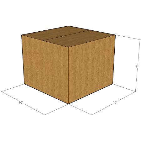 15x10x8 New Corrugated Boxes for Moving or Shipping Needs 32 ECT