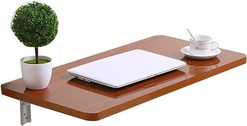 Bureau D'étude Pliant Table à Manger Murale, Table De Rangement Multifonction (Taille   70  40cm)