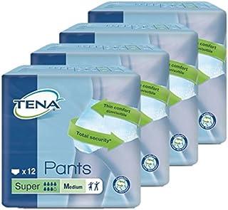 TENA Pants Super Medium M - Inkontinenz-Slips 1 Karton = 4x12 = 48 Stück