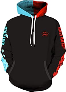 Boku No Hero Academia My Hero Academia Hoodie Shoto Todoroki Sweatshirt Pullover Hoodie Unisex
