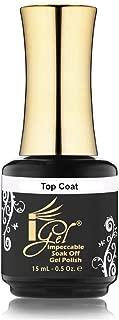 iGel Impeccable Soak Off Gel Top Coat 0.5 oz