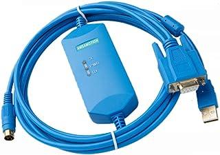 1pack Smart USB-1761-CBL-PM02 Cable de programación para AB Allen Bradley Micrologix 1000/1200/1500 Series Soporte WIN7 con aislamiento fotoeléctrico