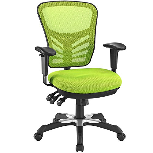 Modway Articulate Ergonomic Mesh Office Chair in Green