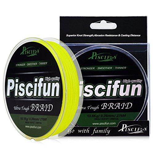 Piscifun Onyx PE Braided Fishing Line 547Yd Bright...