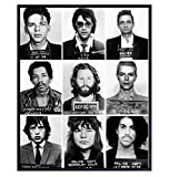 Famous Musicians Mugshot Photo - 11x14 Gift for...