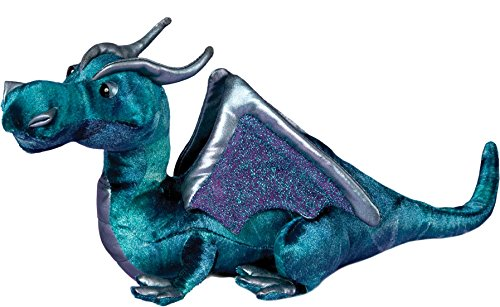 Plush Jade Blue Dragon 15'