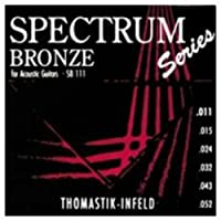 CUERDAS GUITARRA ACUSTICA - Thomastik (SB/111) Spectrum Bronze (Juego Completo 011/052)