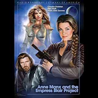 Anne Manx and the Empress Blair Project audiobook cover art