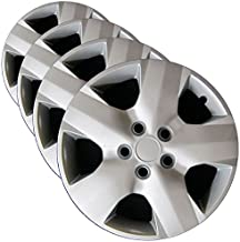 Premium Hubcap Set for Toyota Rav4 2006, 2007, 2008, 2009, 2010, 2011, 2012 - Replacement 16-inch Wheel Covers (4-Pack)