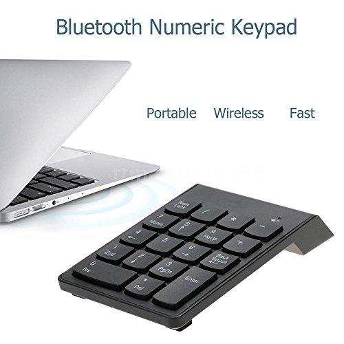 Draadloze Bluetooth Numerieke Toetsenblok 18 Toetsen Digitaal Toetsenbord Geschikt voor Laptop