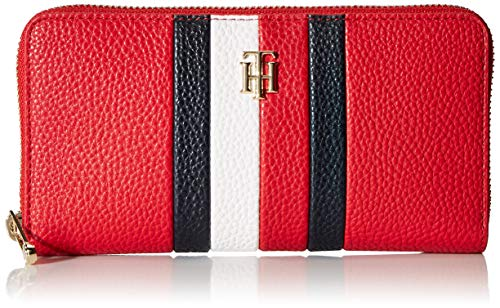 Tommy Hilfiger TH Essence Large Zip Around Wallet Primary Red