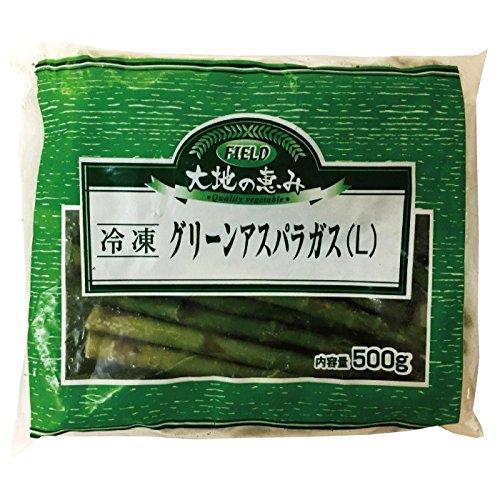 フィールド グリーンアスパラガス Lサイズ 500g 冷凍