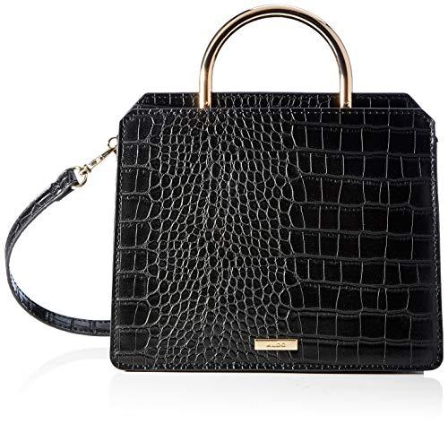 ALDO Damen LEBETH Handtasche, Schwarz, 24