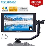 "FEELWORLD F5 5"" Camera Field Video Monitor 4K HDMI Full HD 1920x1080 LCD"