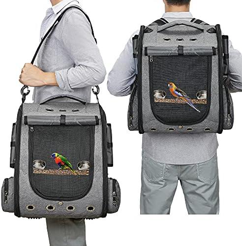 Parrot carrier backpack