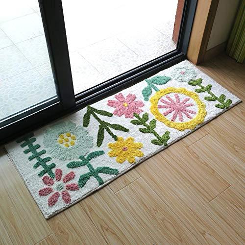 Alfombra de área para sala de estar, mullida y suave, apta para dormitorio, guardería, alfombra de niños, 50 x 80 cm
