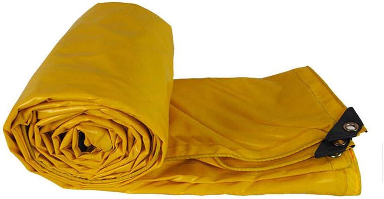 Plane PENGJUN Tarps Gelbe Wasserfeste staubdichte Frostschutzmarkisen-Hochleistungsplane 500g   m2, 0.4mm Es ist weit verbreitet B07H5HMLS3  Eigenschaften