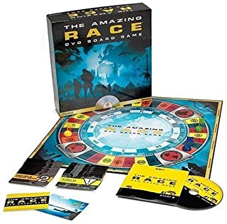 Pressman The Amazing Race DVD Board Game