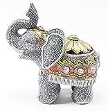 Feng Shui 5'(H) Elephant Wealth Lucky Figurine Home Decor Housewarming Gift US Seller